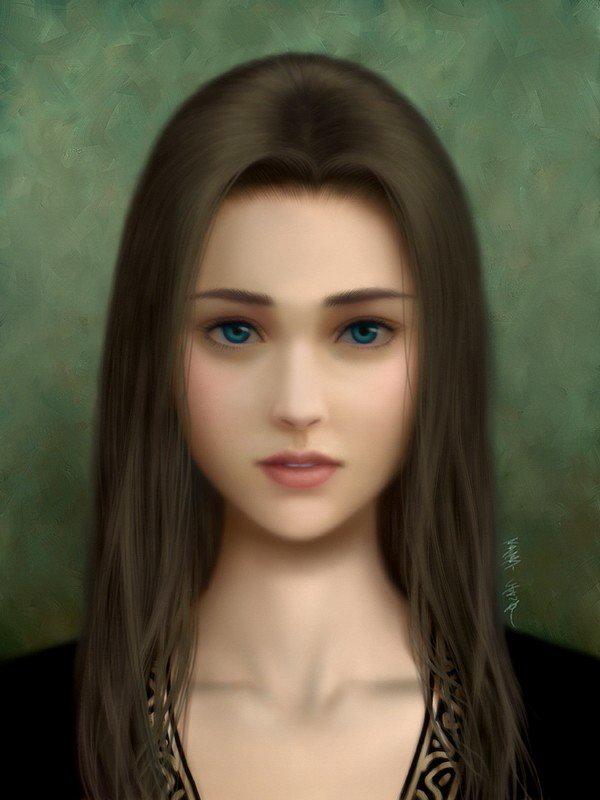 关于日本女生自画像自? 恐怖小说
