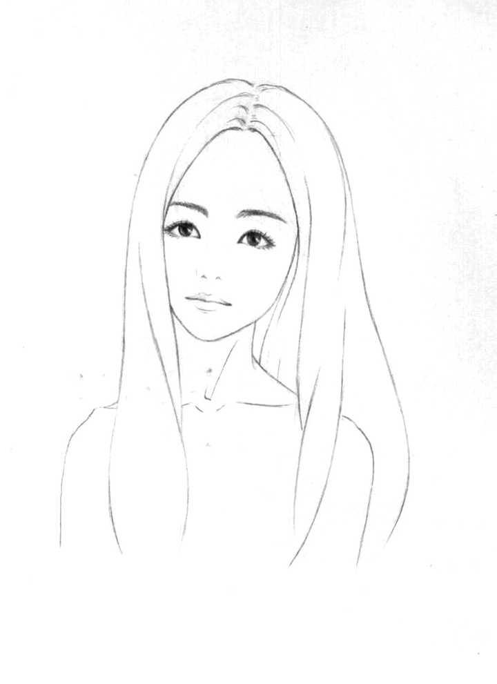 中分女王发型图片