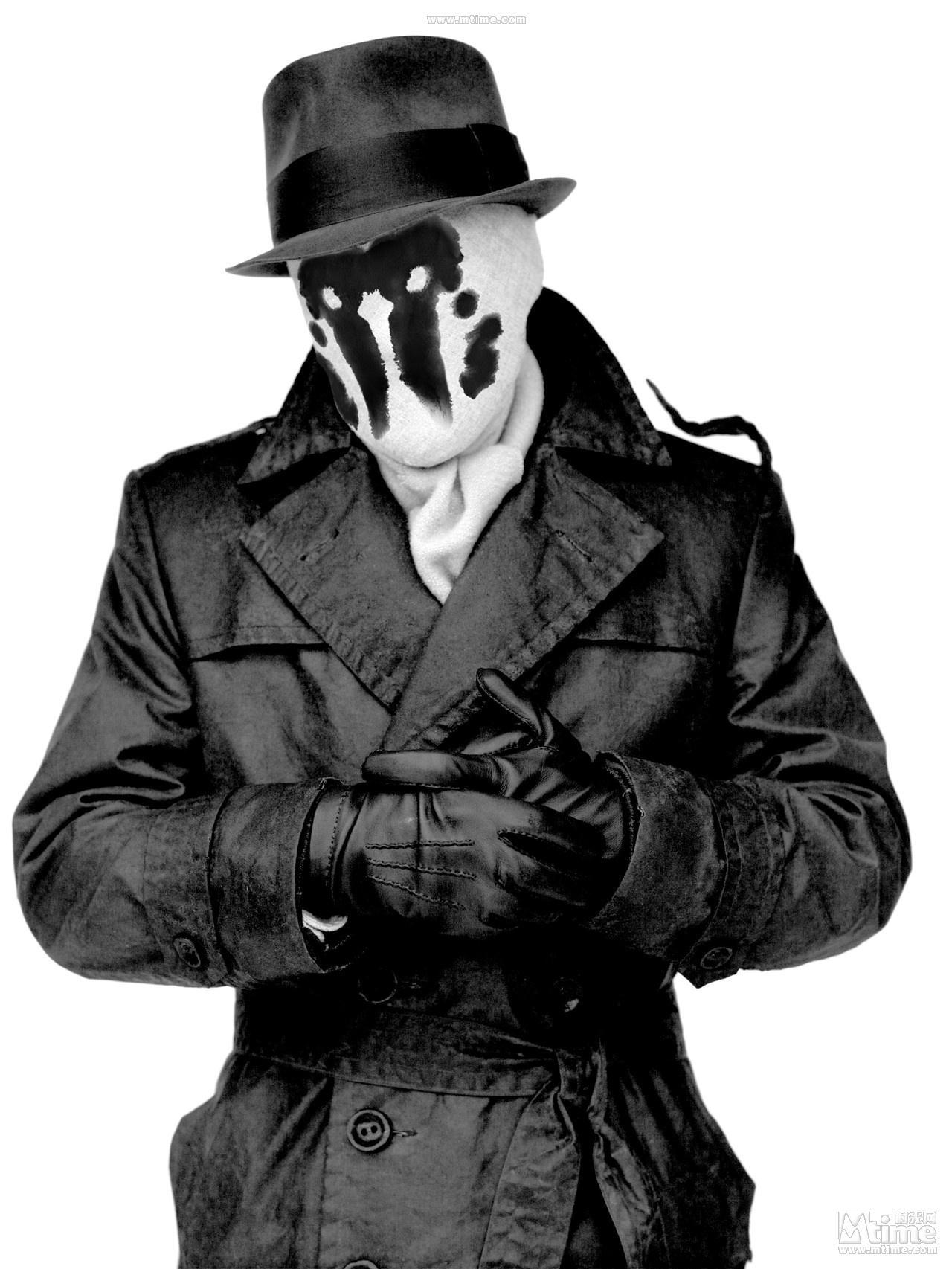 罗夏/我所说的罗夏面具,不是罗夏墨迹测验,电影里的一个人物角色,...