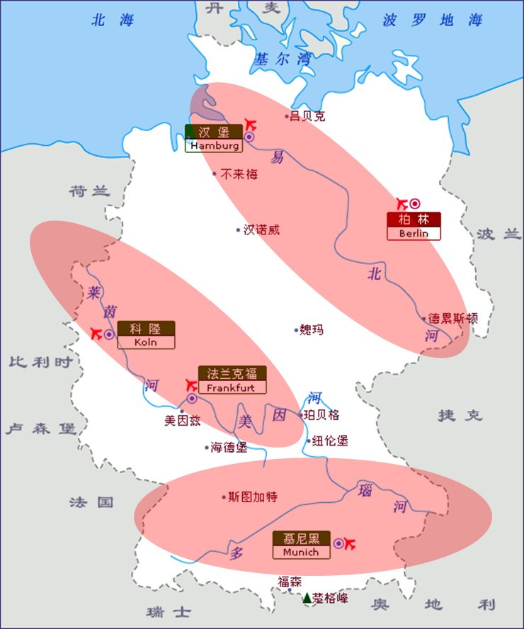 为什么德国人口数量居欧盟之冠、人口密度远超