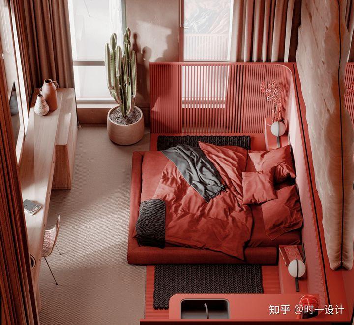 与星空同眠——酒店风卧室