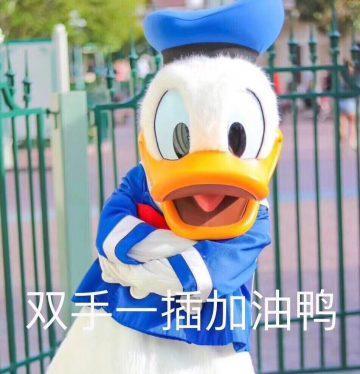 表情包都和「鸭」有关,不仅是活生生的正经鸭子,连唐老鸭在这轮「冲鸭图片
