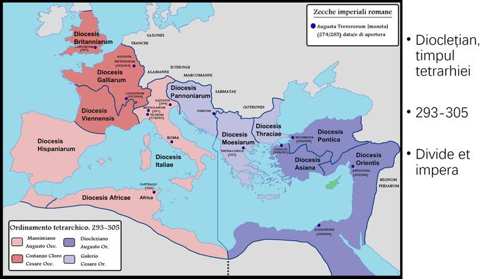 图3,四帝共治(插图注解似乎是意大利语或者西班牙语)图片