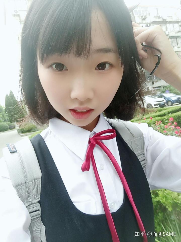 jk制服是日本女高中生穿的校服啊,怎么说都只是一套衣服我觉得跟发型图片