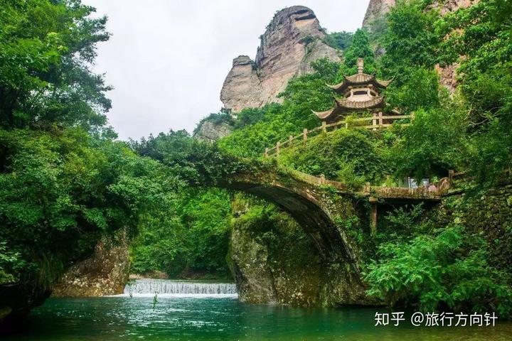 浙江温州雁荡山风景区游览