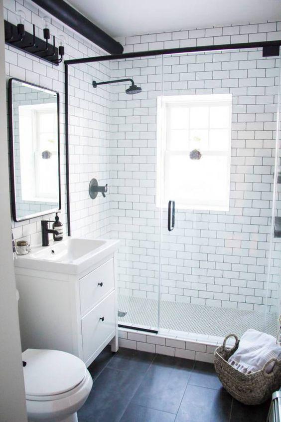 超美的15款浴室瓷砖设计,20年都不过会时!