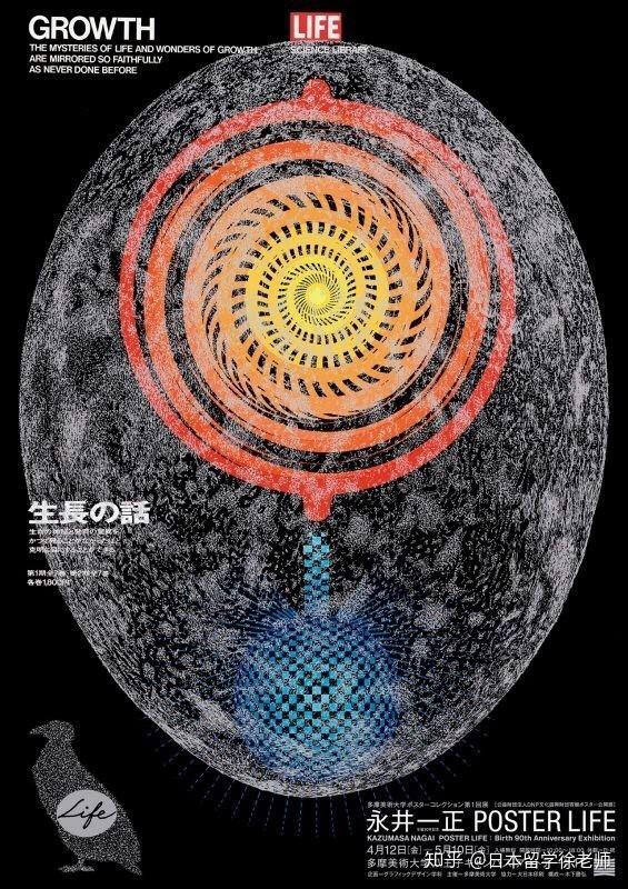 永井先生初期追求抽象性的设计,之后由于体认到日本的平面设计有一天