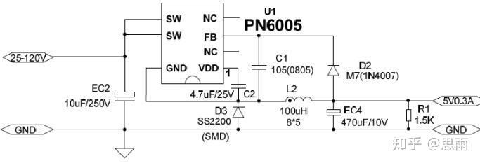 200v高耐压pn6005电动车控制器芯片