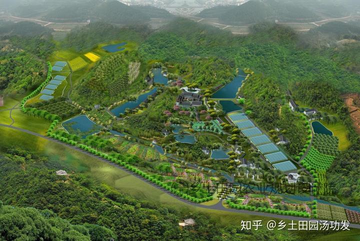 着重打造一个环境优美功能齐全的农民公园.图片