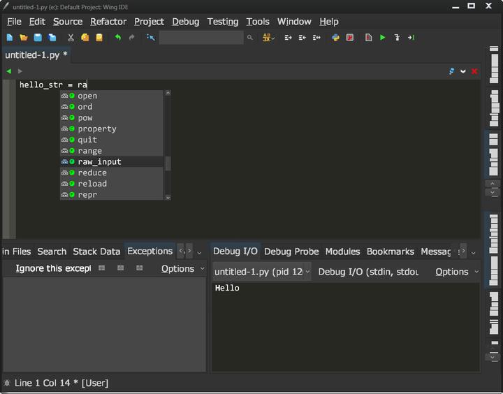 推荐使用WingIDE Python IDE for Python Developers