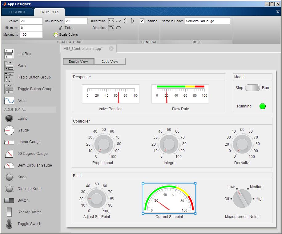 MATLAB App Designer教程连载1:如何使用App Designer进行的简单的GUI设计