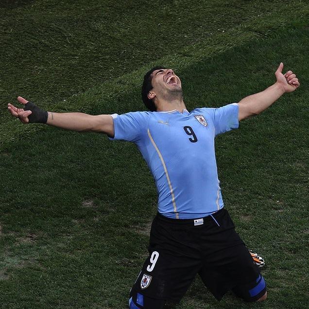 意大利 VS 乌拉圭前瞻:本届世界杯乌拉圭只有 5 次射门射正,进了 3 球