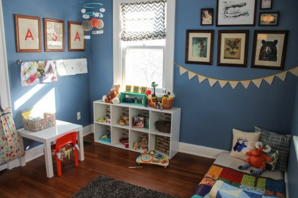 如何布置0-3岁的蒙特梭利婴儿房?