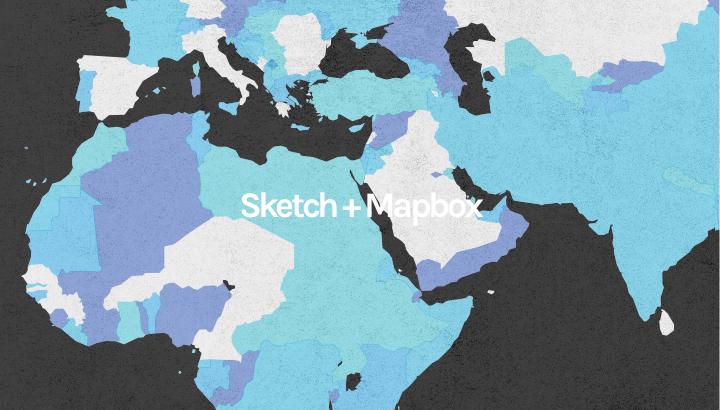 Sketch #1 如何用Sketch设计地图配色,并设置成Mapbox的色值