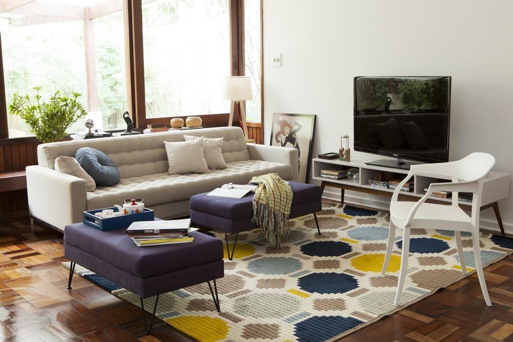 客厅可以有电视,但不该成为主角,它们可以摆成这样!
