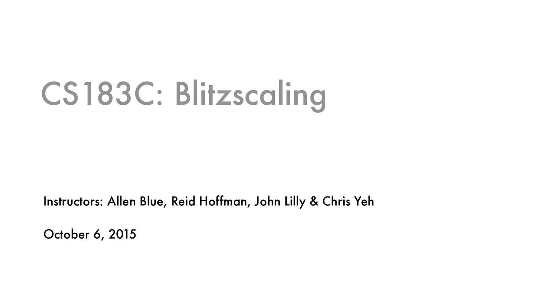 2015年斯坦福创业课程-技术驱动的闪电式扩张(Blitzscaling) 5:Tribe