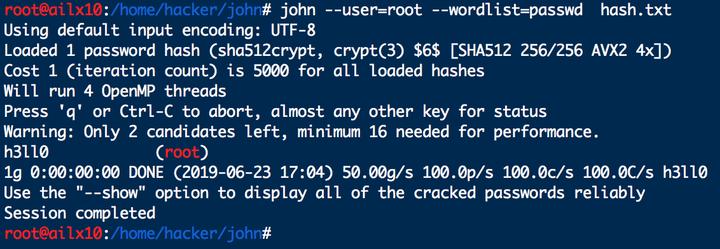 ZIP加密文件破解:john简介- 知乎