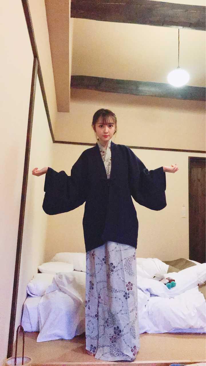 2c4f9ffa06f 再补一下前几天去箱根温泉酒店他们给的让泡完温泉穿的浴衣~