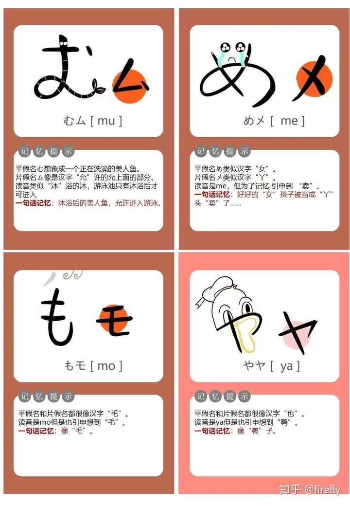 怎么记住五十音图的?详细的日语五十音图学习教程插图(21)