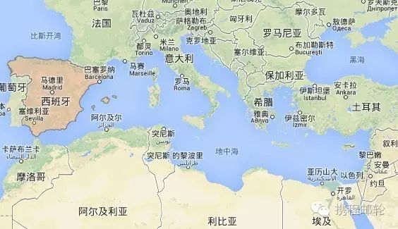 地中海沿岸有哪些著名港口城市? - 知乎