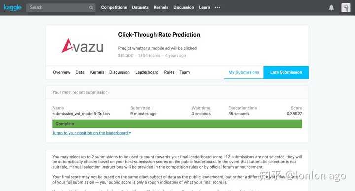 TensorFlow 的wide&deep模型做广告点击概率预测 CTR - 知乎