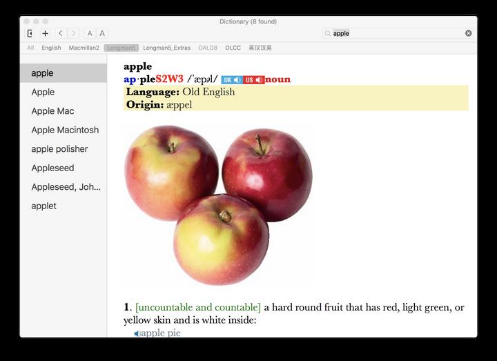 Mac 上最好的词典软件? - 知乎