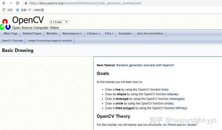 opencv_Basic Drawing - 知乎