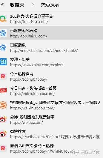 哪些网站:有哪些热点搜索的网站?-U9SEO