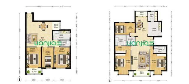 在西安买房购房户型如何选择|西安买房插图(6)