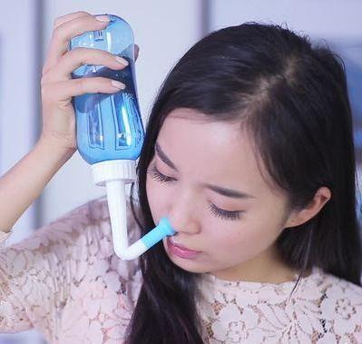 医院用的生理盐水_洗鼻器能洗到鼻窦吗? - 知乎