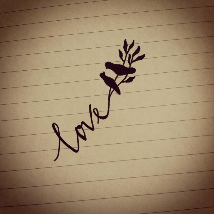 手绘花体纹身_有哪些好看的文字纹身? - 知乎