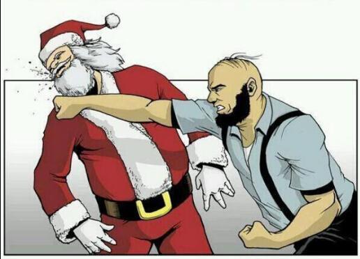 """关于圣诞节和新年、""""圣诞老人""""和""""寒冬老人""""的一些碎碎念 - 一炮手 - 一炮手的杂志型编撰博客"""