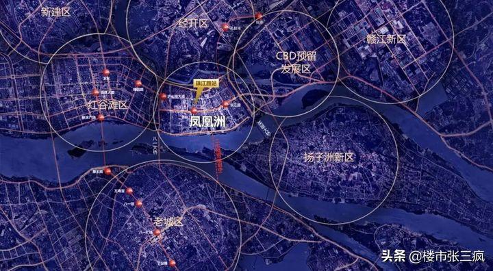 南昌市什么位置(南昌的城市中心究竟在哪)