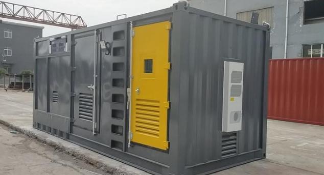 集装箱柴油发电机组消音处理技术