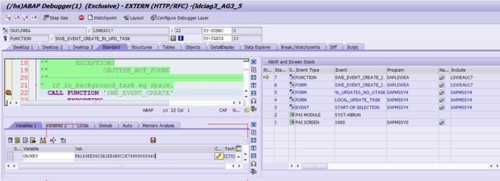 如何监听SAP CRM BOR事件