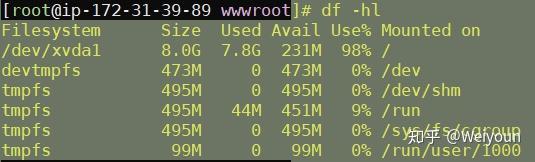 AWS增加ebs卷后扩充分区操作教程第3张-Myexplor