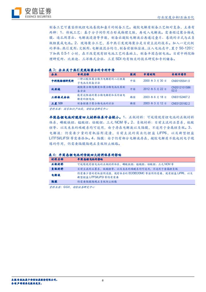 【免费下载】固态锂电产业化深度解析-安信证券20210111