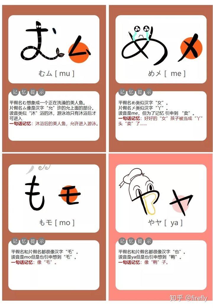 怎么记住五十音图的?详细的日语五十音图学习教程插图(22)