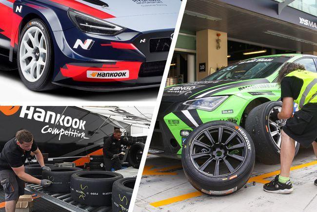 韩泰轮胎成为TCR三大系列赛独家轮胎供应商