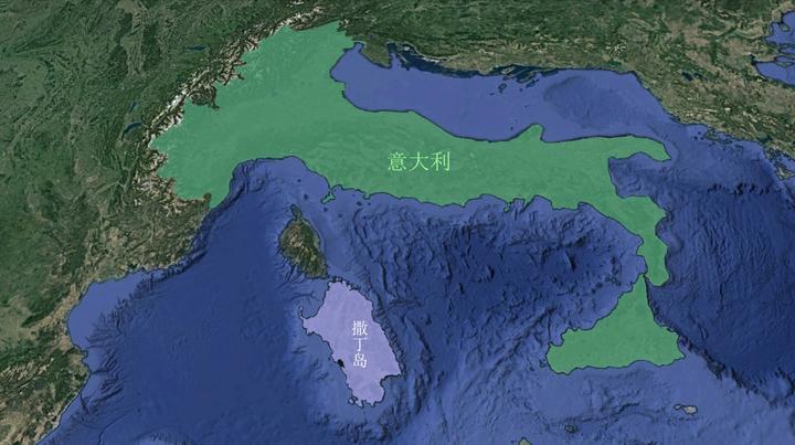 意大利在欧洲的位置(意大利到底是个什么样的国家)
