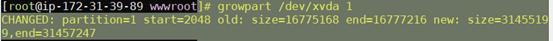 AWS增加ebs卷后扩充分区操作教程第2张-Myexplor