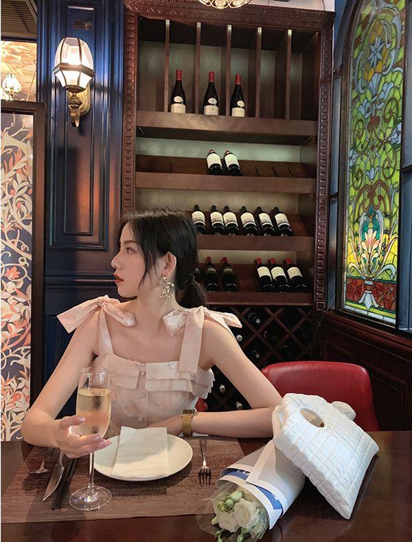 超仙甜美连衣裙买家秀,每一张都是神仙颜值