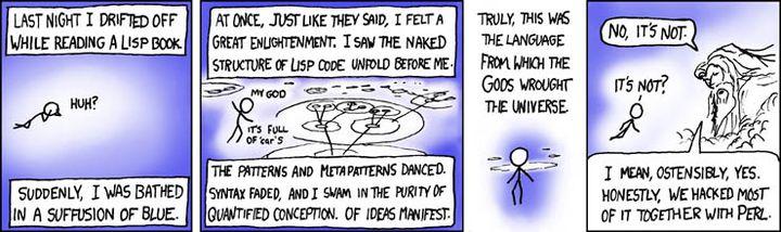 Lisp 是怎么成为上帝的编程语言的