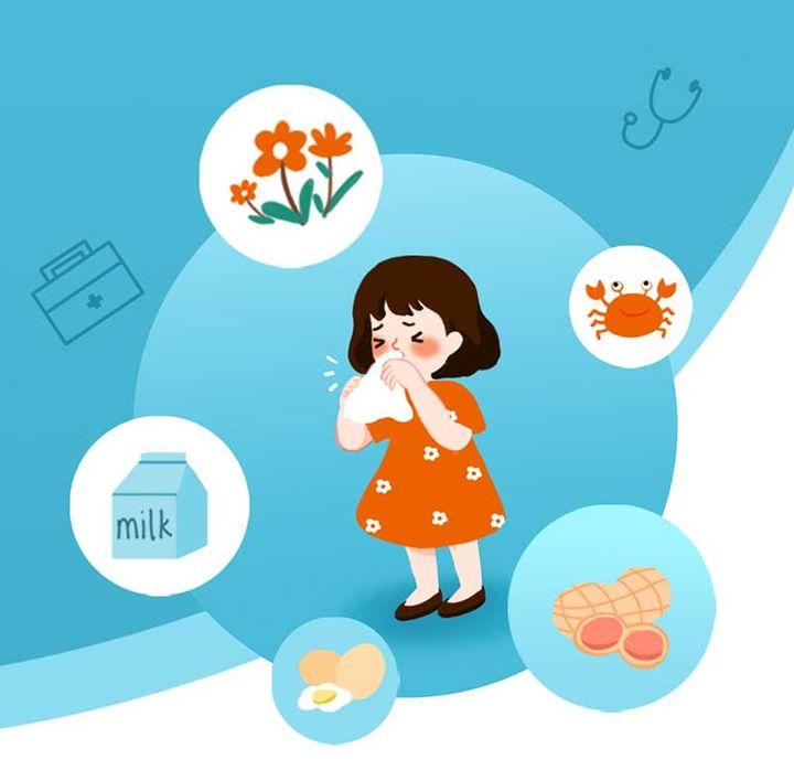 孩子患有过敏性鼻炎怎么办(孩子过敏鼻炎怎么治疗)插图