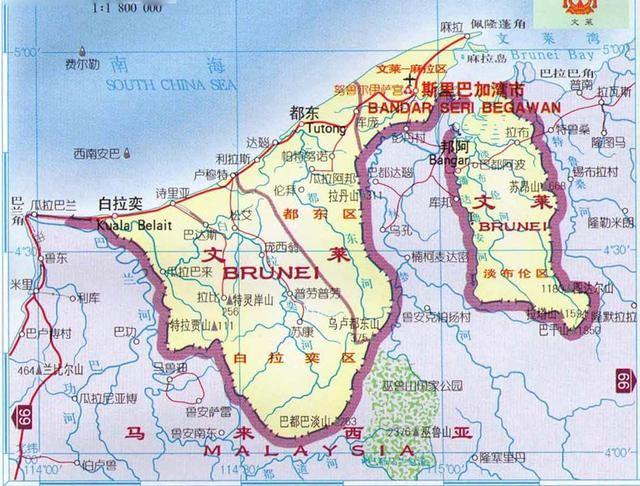 文莱属于哪个国家(文莱真的很富有吗)
