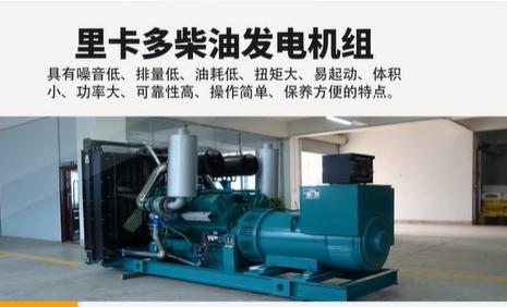 里卡多柴油发电机组特点介绍