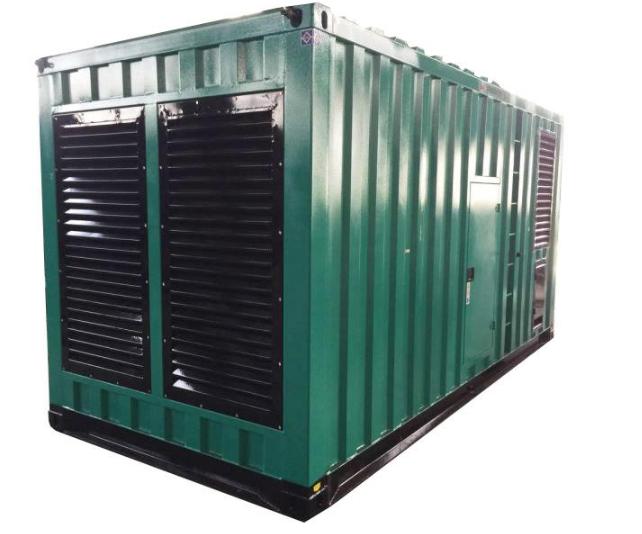 国产发电机组集装箱发电机图片