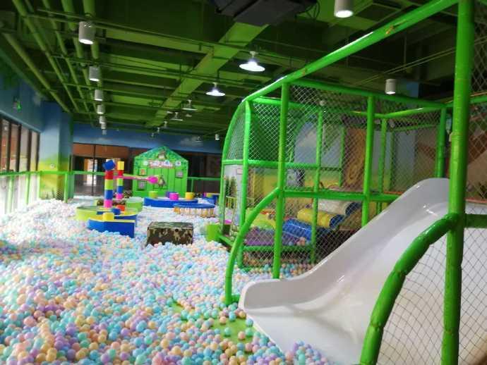 延安开家一百平的儿童乐园需要多少钱? 加盟资讯 游乐设备第1张