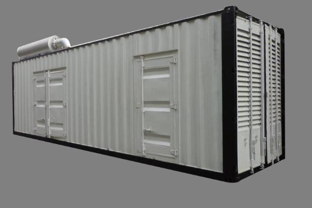 玉柴发电机组集装箱