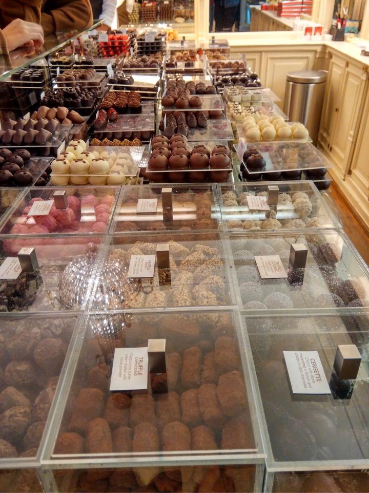 比利时手工巧克力的历史巧克力